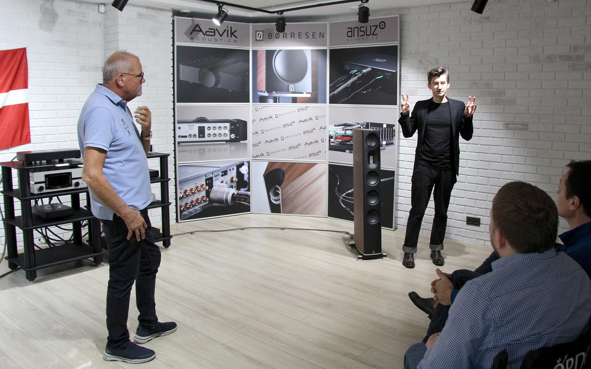 Самая быстрая аудиосистема: Михаил Борзенков слушает Ansuz, Aavik и Børresen
