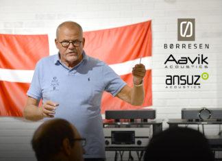 Ларс Кристенсен впервые в России представил продукты Børresen, Aavik и Ansuz