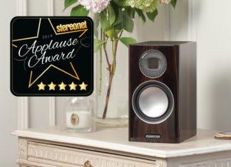 Monitor Audio Gold 100 получают «пять звёзд» от портала StereoNet