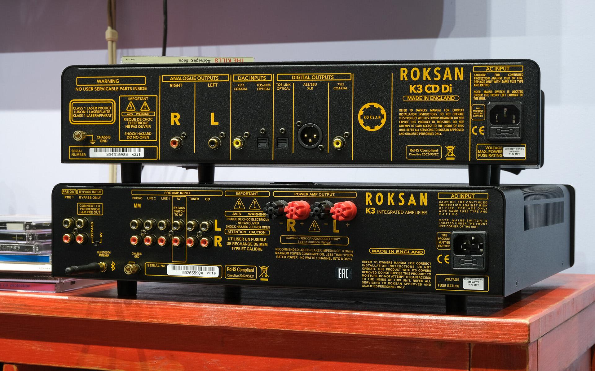 Породистый английский звук компонентов Roksan K3 в обзоре блога Iamhear