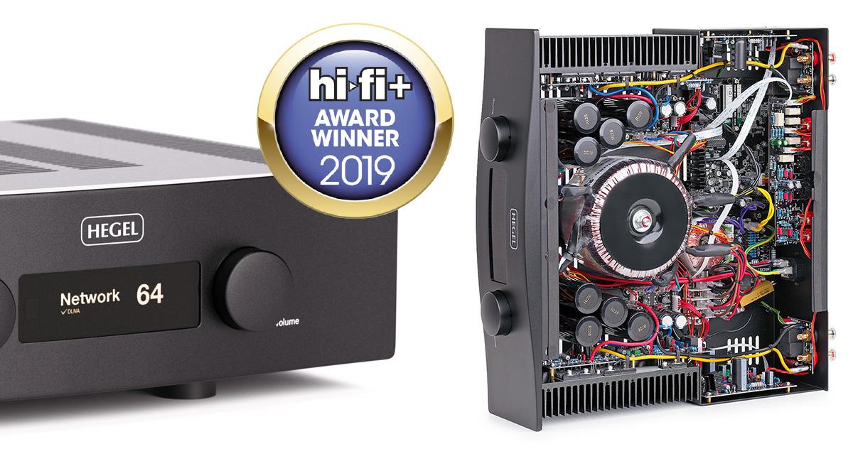 Hegel H390 – интегральный усилитель года по версии Hi-Fi+