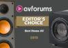 Модели REL и Monitor Audio – среди лучших продуктов года по версии AVForums
