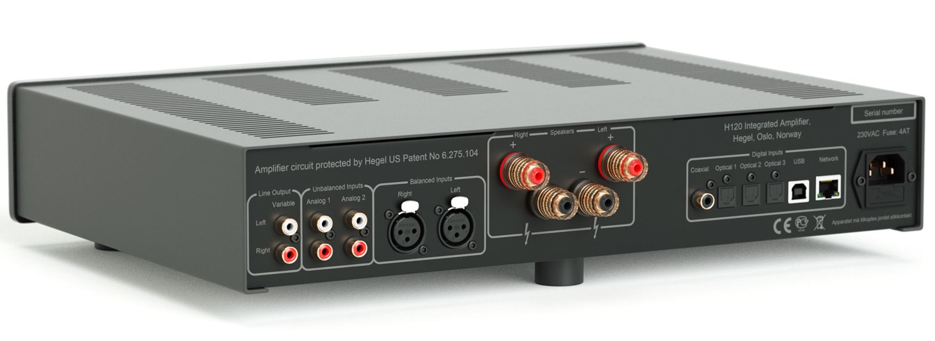 Интегральный усилитель Hegel H120 поступил в продажу в России