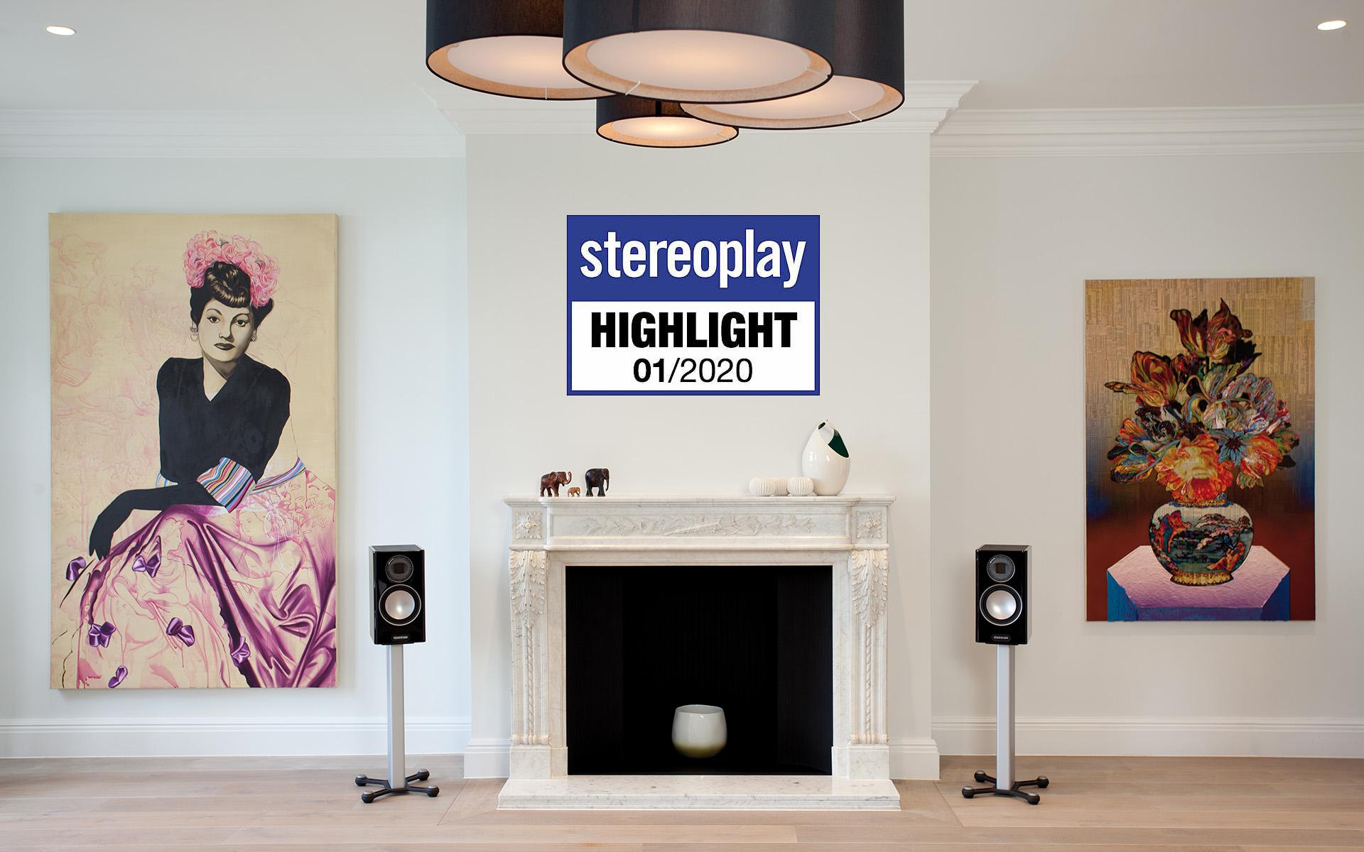 Highlight Award для Monitor Audio Gold 100 от журнала Stereoplay