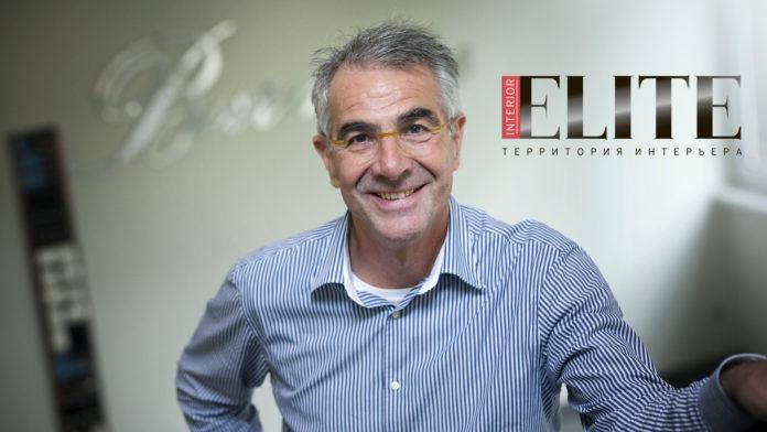 Журнал Elite Interior: Дитер Бурмистр – человек-легенда индустрии High End