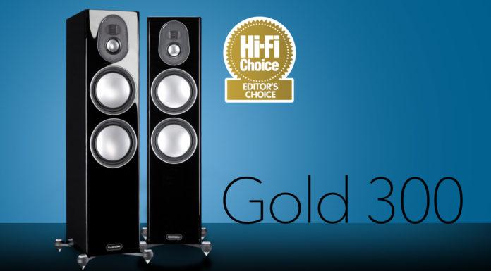 Золото к золоту: значок выбор редакции Hi-Fi Choice для Monitor Audio Gold 300