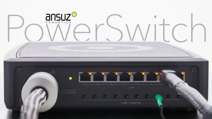 Сетевой коммутатор Ansuz PowerSwitch надёжно нейтрализует шум