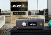 Новая линейка AV-ресиверов Arcam получила поддержку Auro-3D