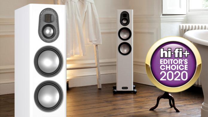 Очевидный успех производителя: приз журнала HiFi+ для Monitor Audio Gold 200