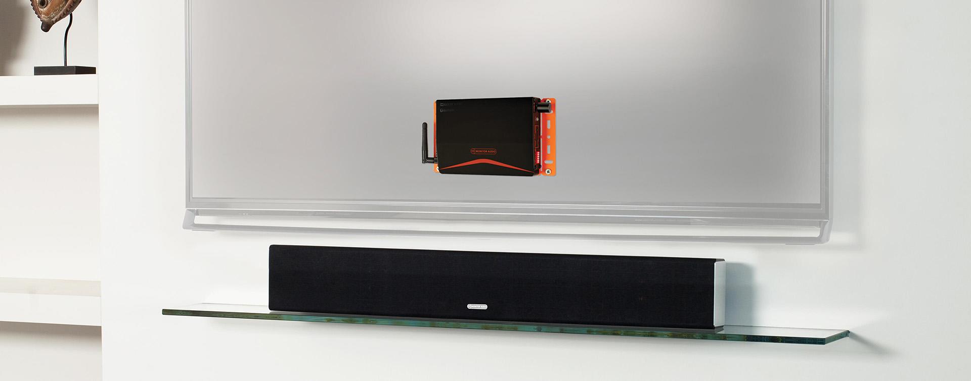 «Невидимый» помощник для телевизора – усилитель Monitor Audio IA40-3