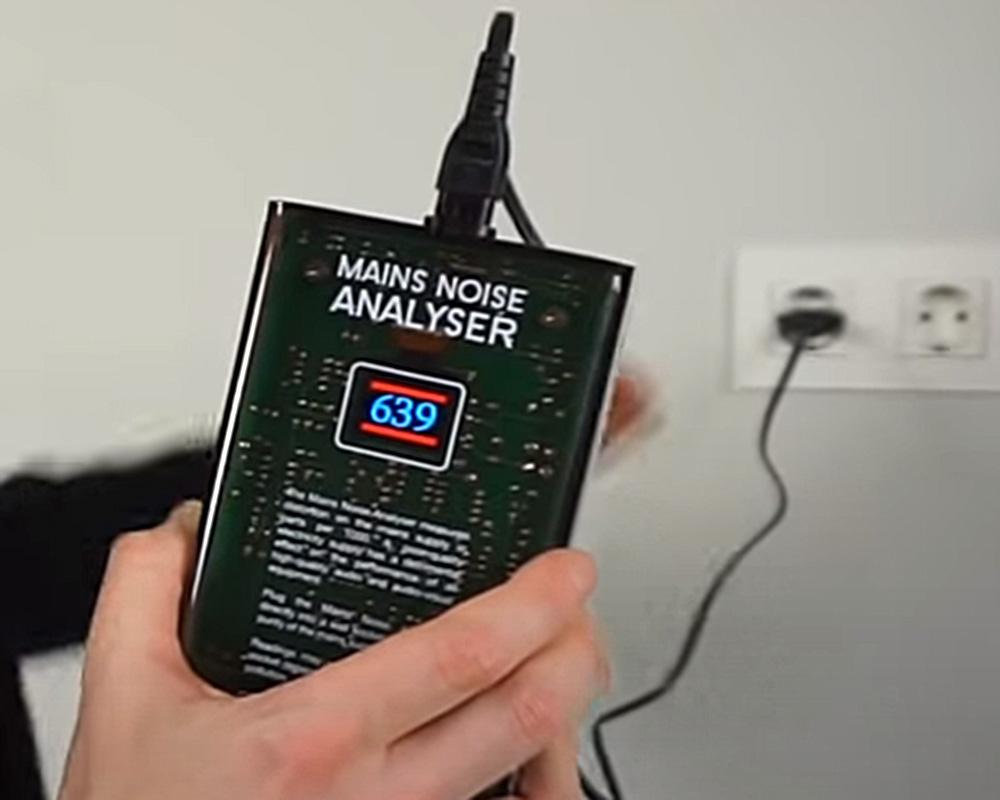 Значение уровня помех в стандартной электросети