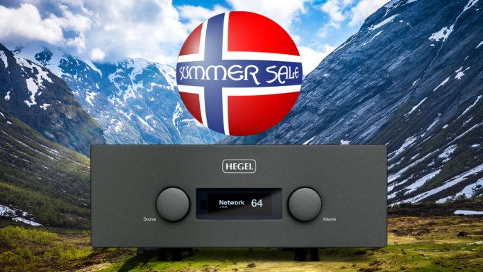 Интегральный усилитель Hegel H590 – по специальной летней цене