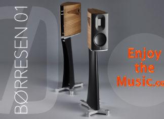 Приближая искусство к реальности: полочная колонка Børresen 01 в обзоре портала Enjoy The Music