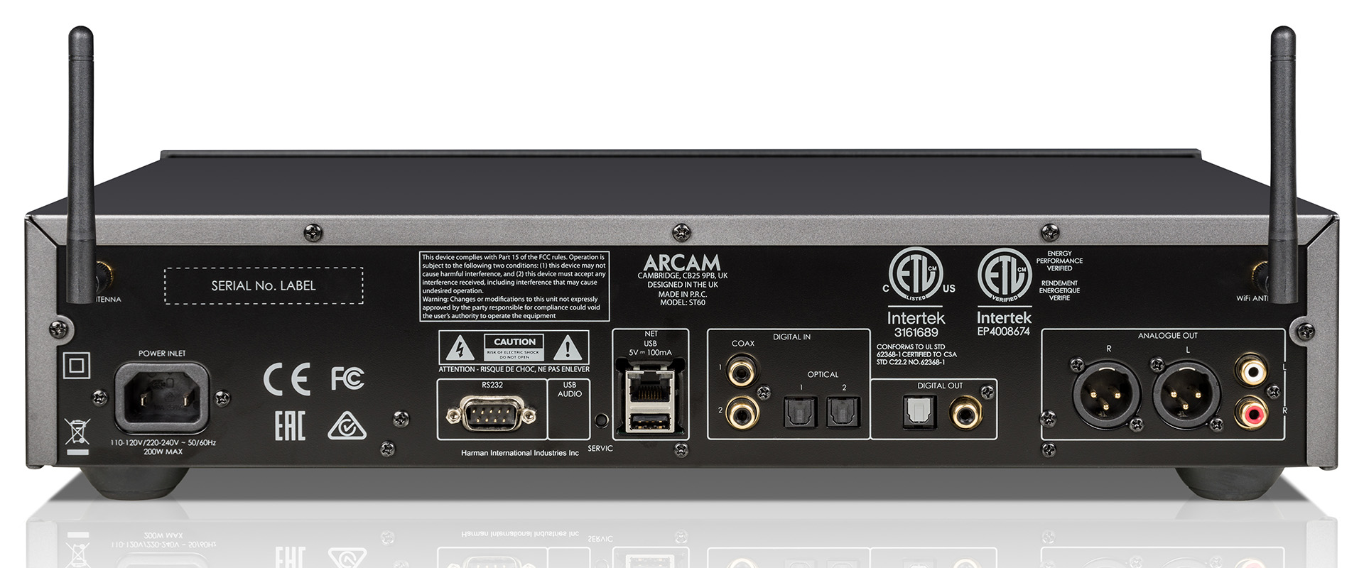 Стриминг без проблем: Arcam представляет потоковый проигрыватель ST60