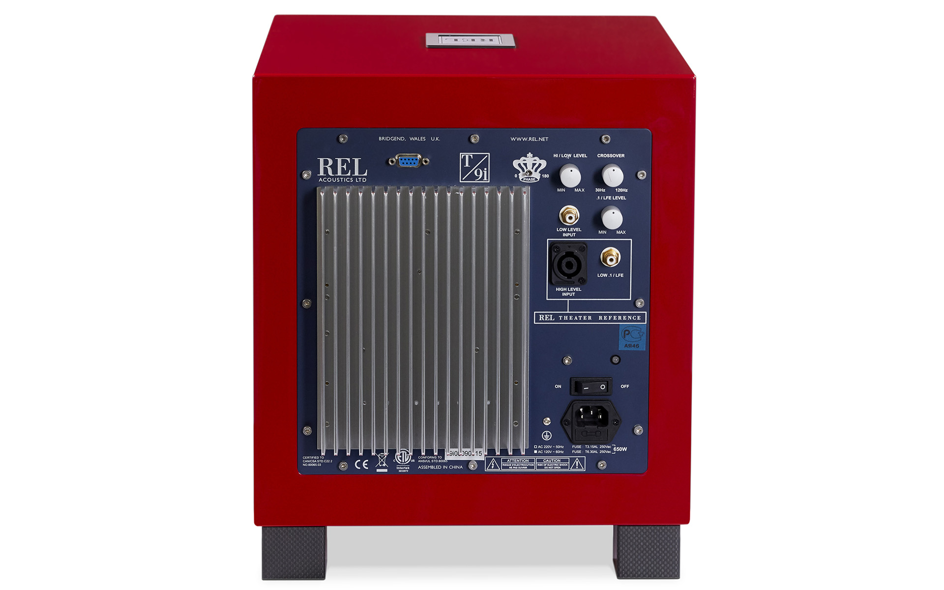 Британцы ставят на красное: новый сабвуфер REL T/9i RED Ltd. Edition