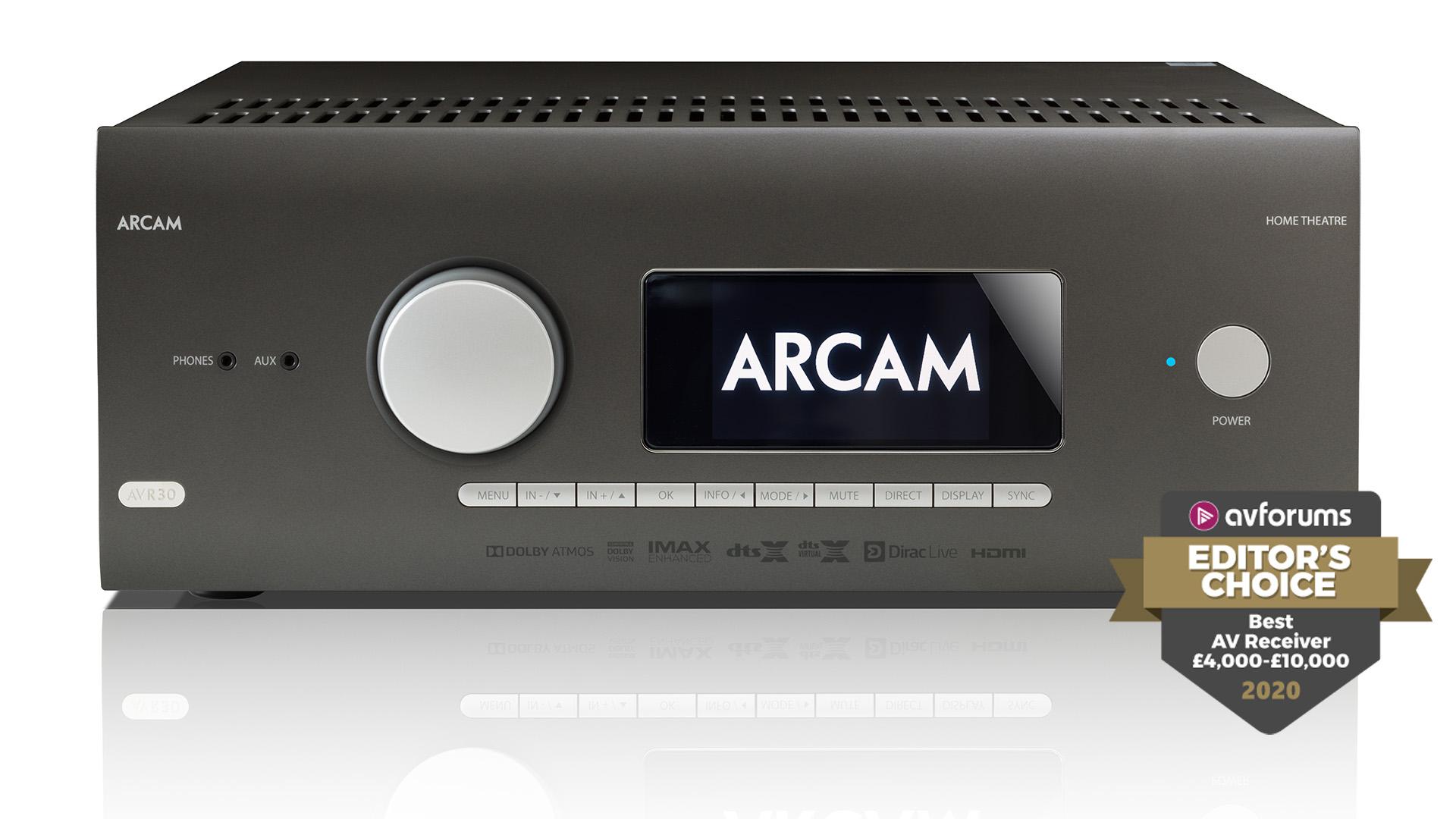 Arcam, REL и JBL – выбор года портала AVForums