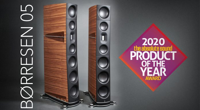 Børresen 05 – продукт года журнала The Absolute Sound