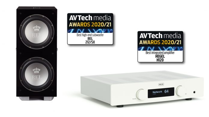 Hegel H120 и REL 212/SX – лауреаты премии AVTech Media Awards 2020/2021