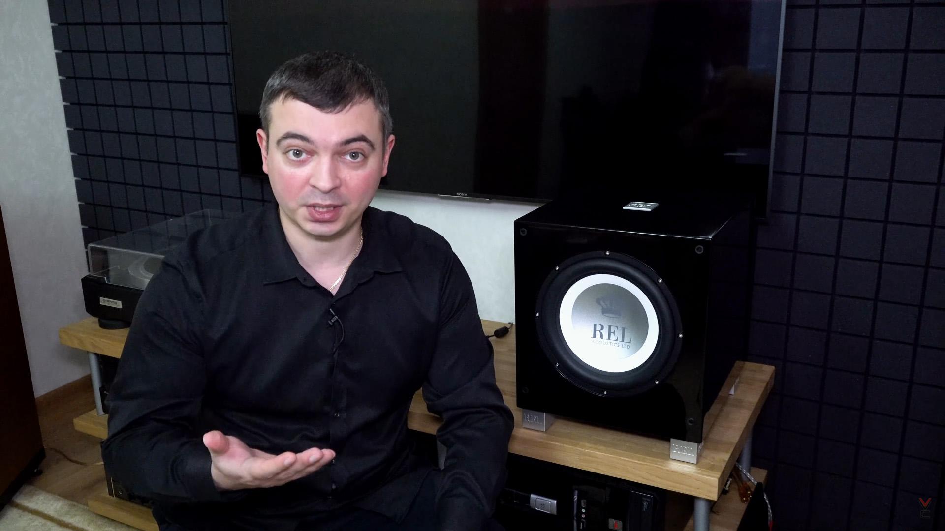 Купил музыкальный сабвуфер: Valeron стал обладателем REL T/9i