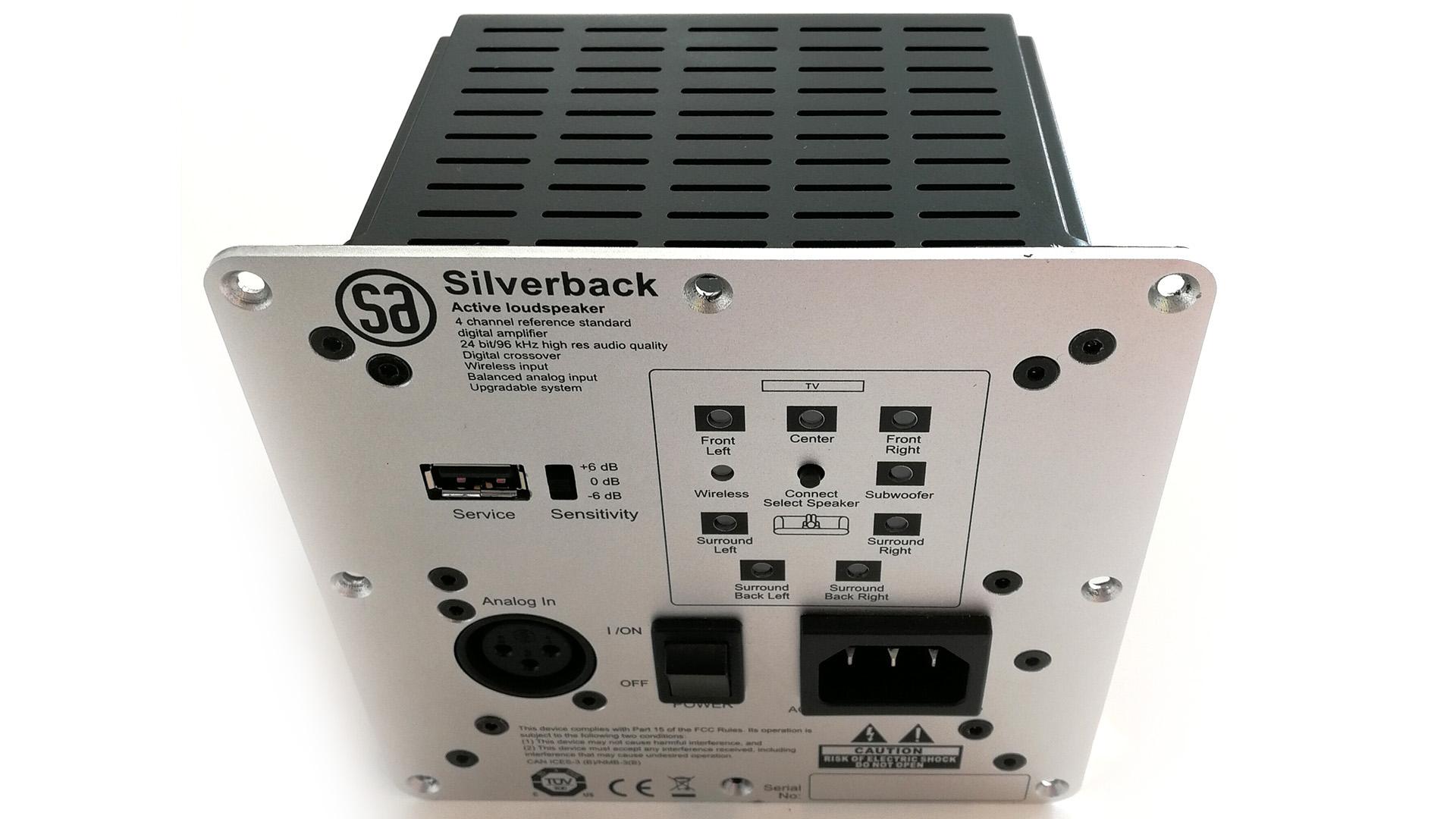 Беспроводной флагман: активные колонки SA legend 60.2 silverback