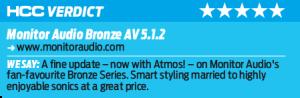 Бронза за первое место: комплект акустики 5.1.2 Monitor Audio Bronze Atmos