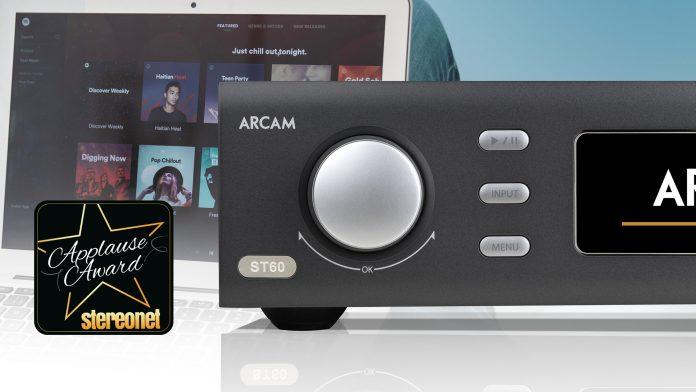 На вершине списка: StereoNet слушает проигрыватель Arcam ST60