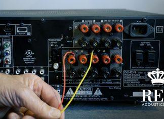 Подключение сабвуфера REL к усилителю класса D по высокому уровню