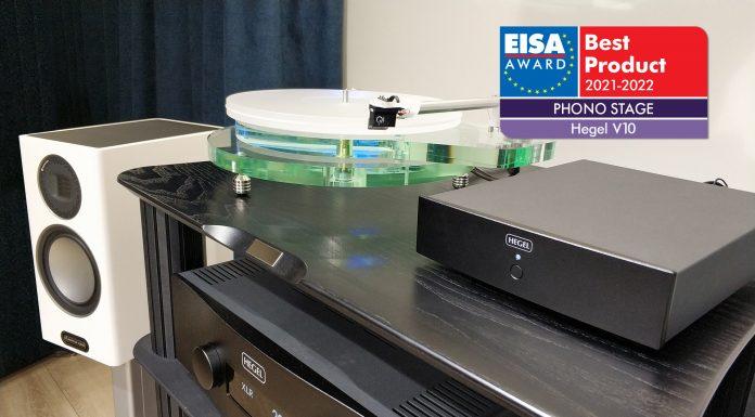Hegel V10 – лучший в мире фонокорректор по версии EISA