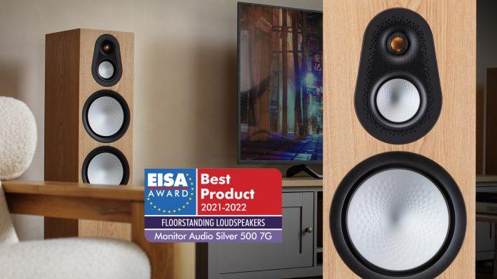 Самая новая и самая лучшая: EISA выбирает колонку Monitor Audio Silver 500 7G
