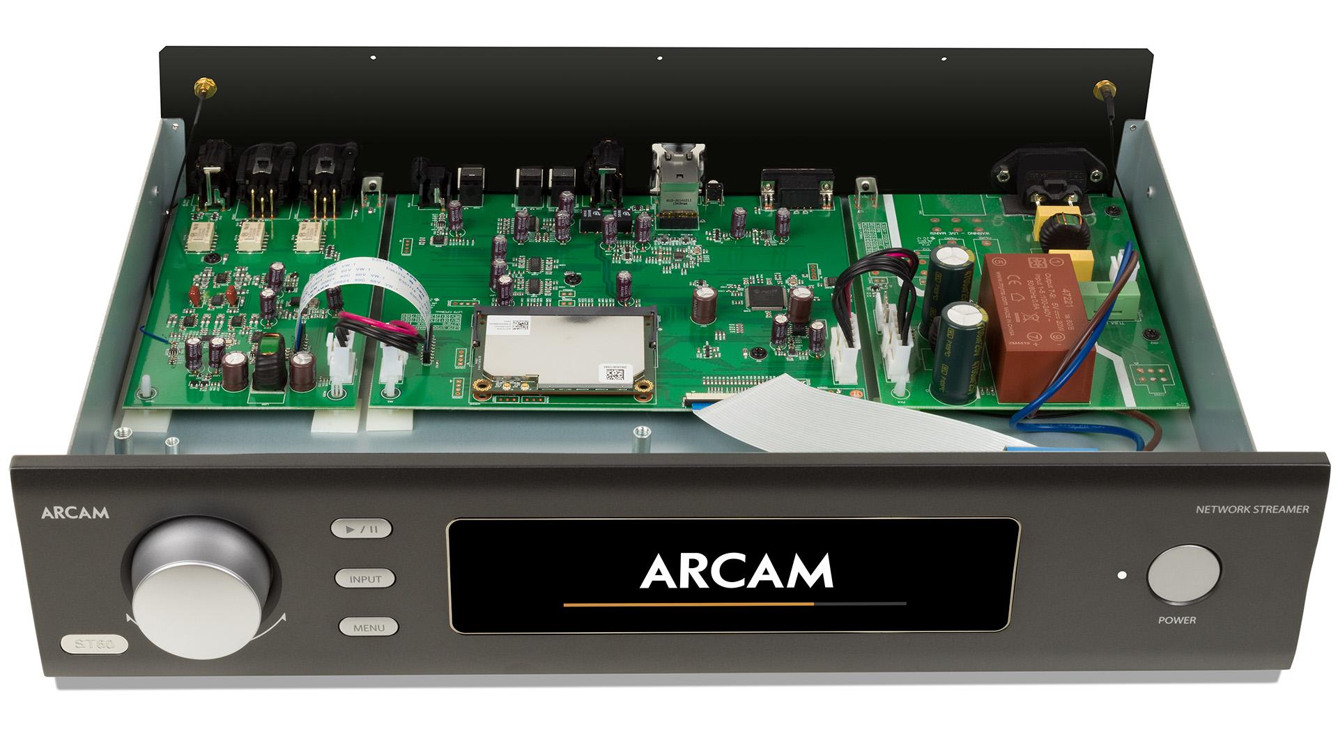 Делает свою работу безупречно: музыкальный стример Arcam ST60