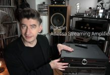 Borzenkov получил тактильный ответ от Roksan Attessa Streaming Amplifier